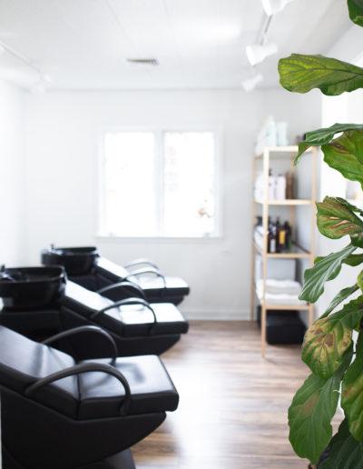 The Nest Salon | Shampoo Bowls